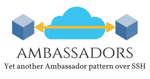 Yet another Ambassador pattern over SSH.