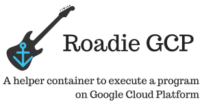 A helper container to execute a program on Google Cloud Platform.